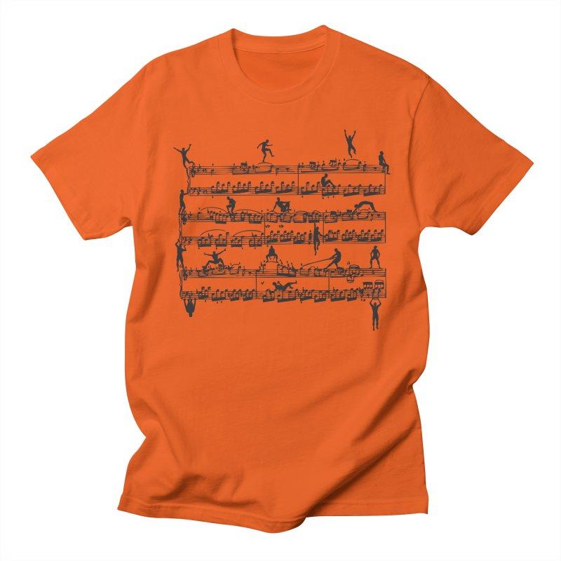 Mozart Men Men's Regular T-Shirt by zomboy's Artist Shop