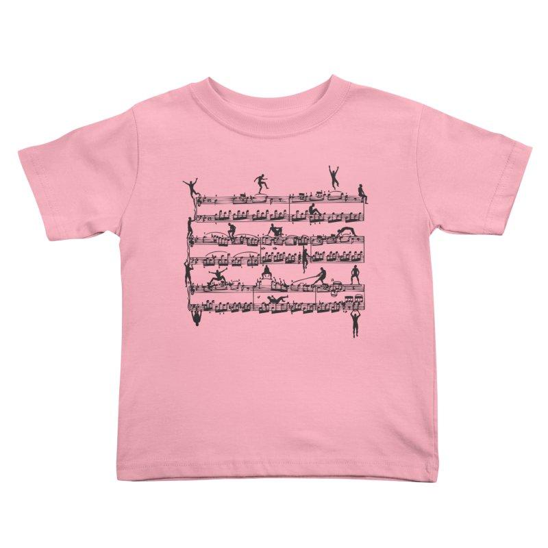 Mozart Men Kids Toddler T-Shirt by zomboy's Artist Shop