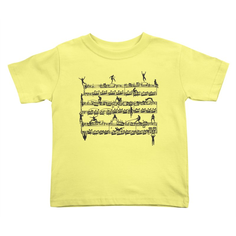 Mozart Men Kids Toddler T-Shirt by zomboy's Artist Shop