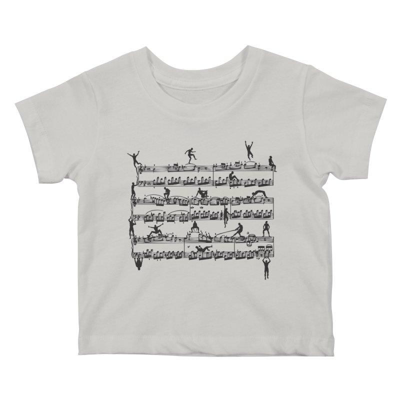 Mozart Men Kids Baby T-Shirt by zomboy's Artist Shop