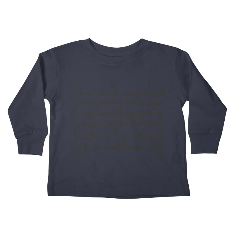 Mozart Men Kids Toddler Longsleeve T-Shirt by zomboy's Artist Shop