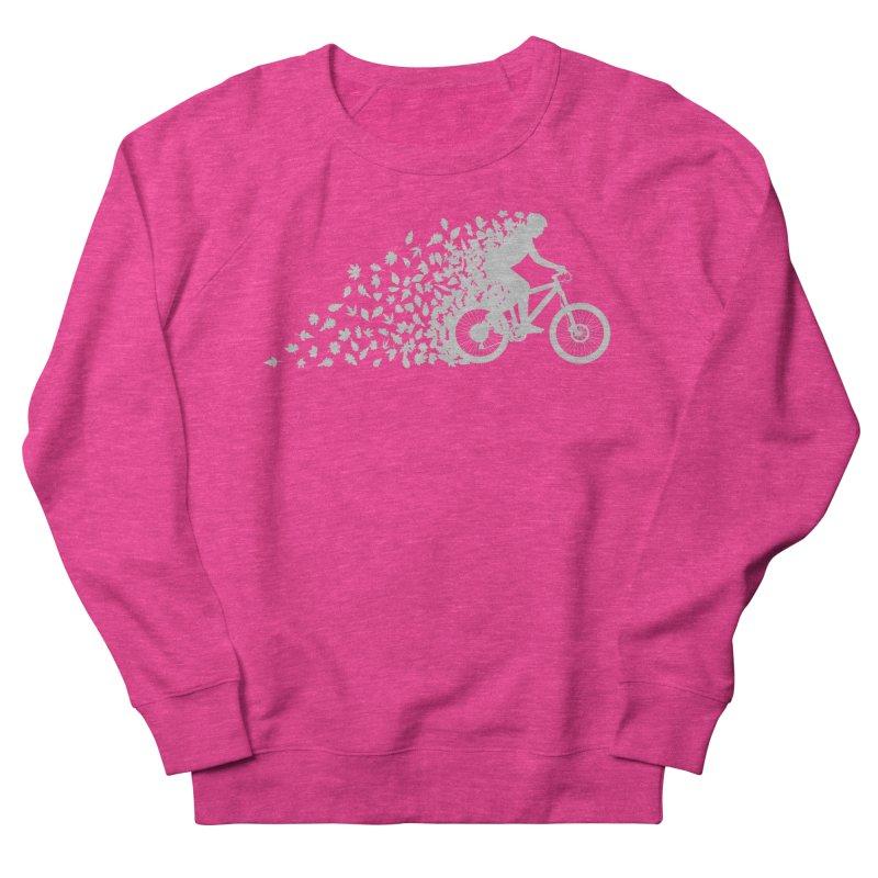 Leafy Trail Women's French Terry Sweatshirt by zomboy's Artist Shop