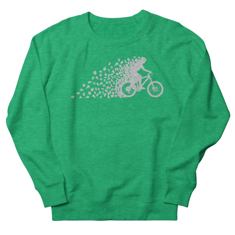 Leafy Trail Men's French Terry Sweatshirt by zomboy's Artist Shop