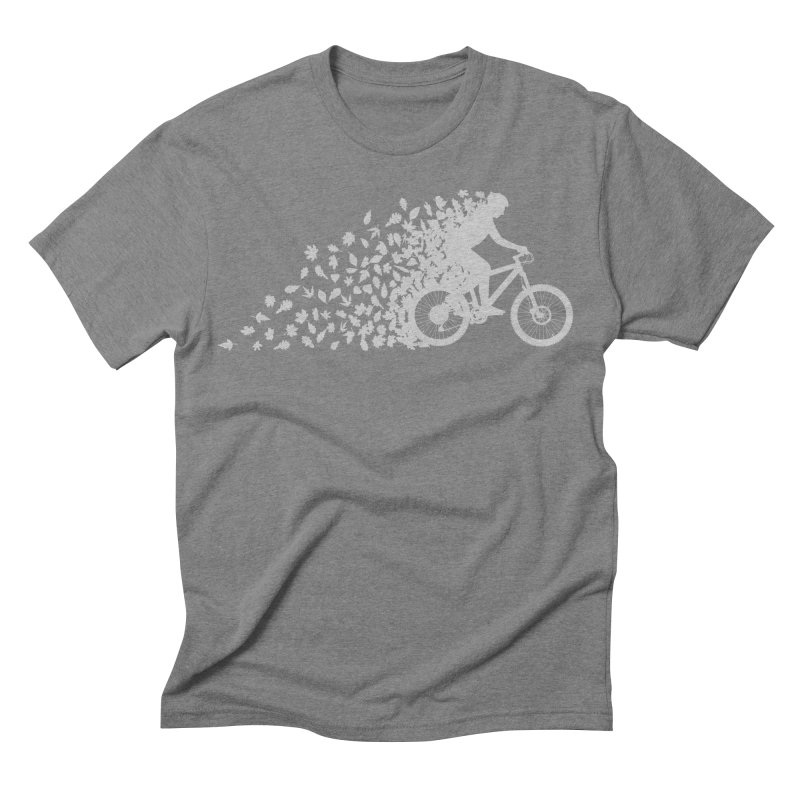 Leafy Trail Men's Triblend T-shirt by zomboy's Artist Shop