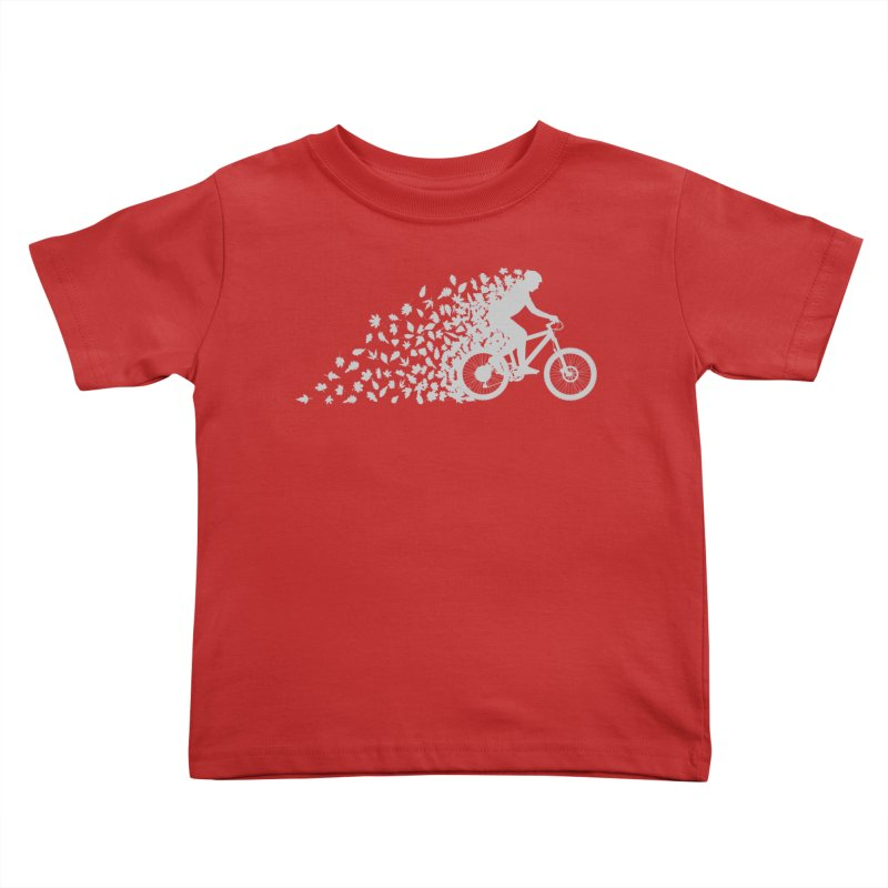 Leafy Trail Kids Toddler T-Shirt by zomboy's Artist Shop