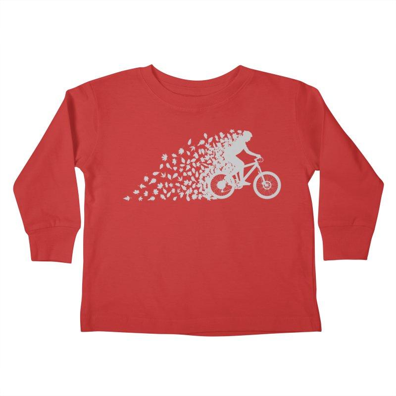 Leafy Trail Kids Toddler Longsleeve T-Shirt by zomboy's Artist Shop