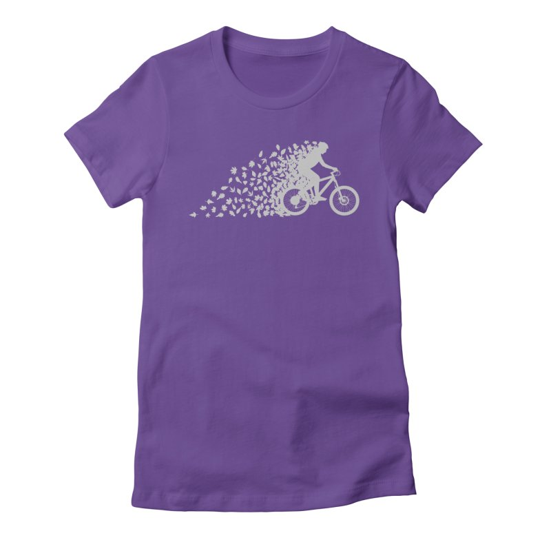 Leafy Trail Women's Fitted T-Shirt by zomboy's Artist Shop