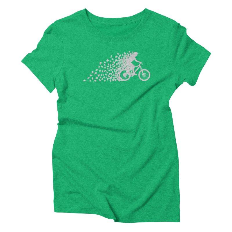 Leafy Trail Women's Triblend T-Shirt by zomboy's Artist Shop