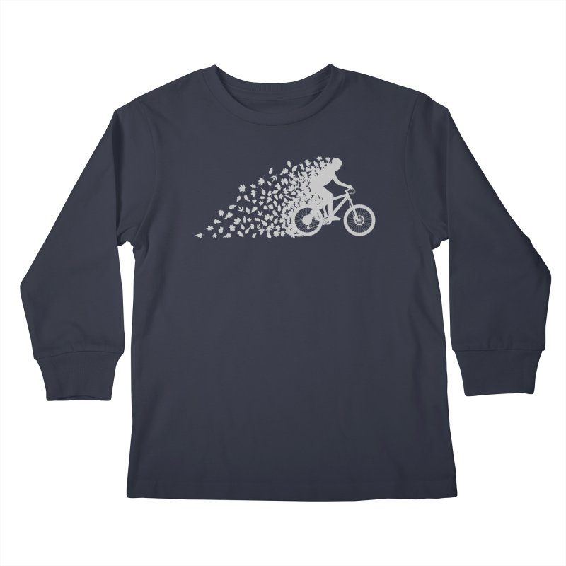 Leafy Trail Kids Longsleeve T-Shirt by zomboy's Artist Shop