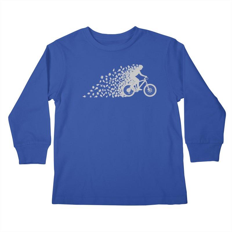 Leafy Trail Kids Longsleeve T-Shirt by zomboy's Artist Shop
