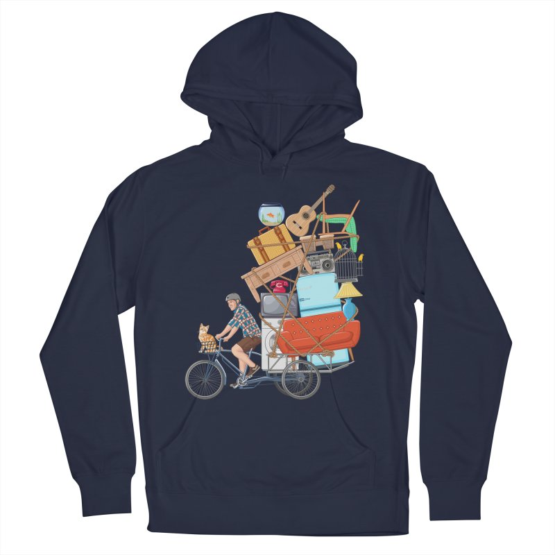 Life on the move Men's Pullover Hoody by zomboy's Artist Shop