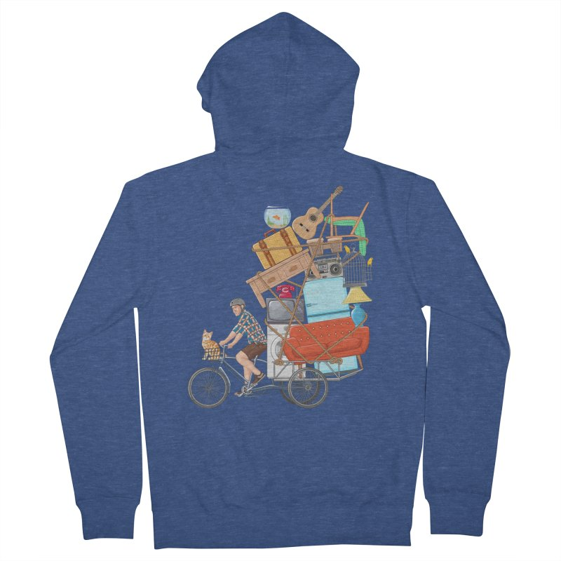 Life on the move Women's Zip-Up Hoody by zomboy's Artist Shop