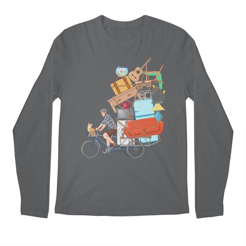 Life on the move Men's Longsleeve T-Shirt by zomboy's Artist Shop