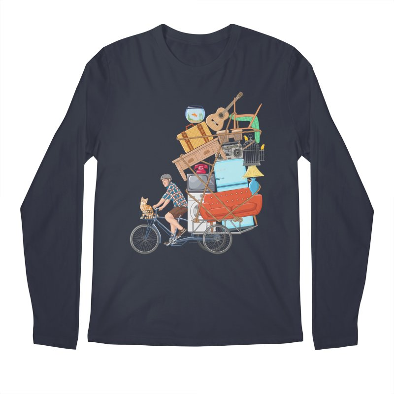 Life on the move Men's Regular Longsleeve T-Shirt by zomboy's Artist Shop
