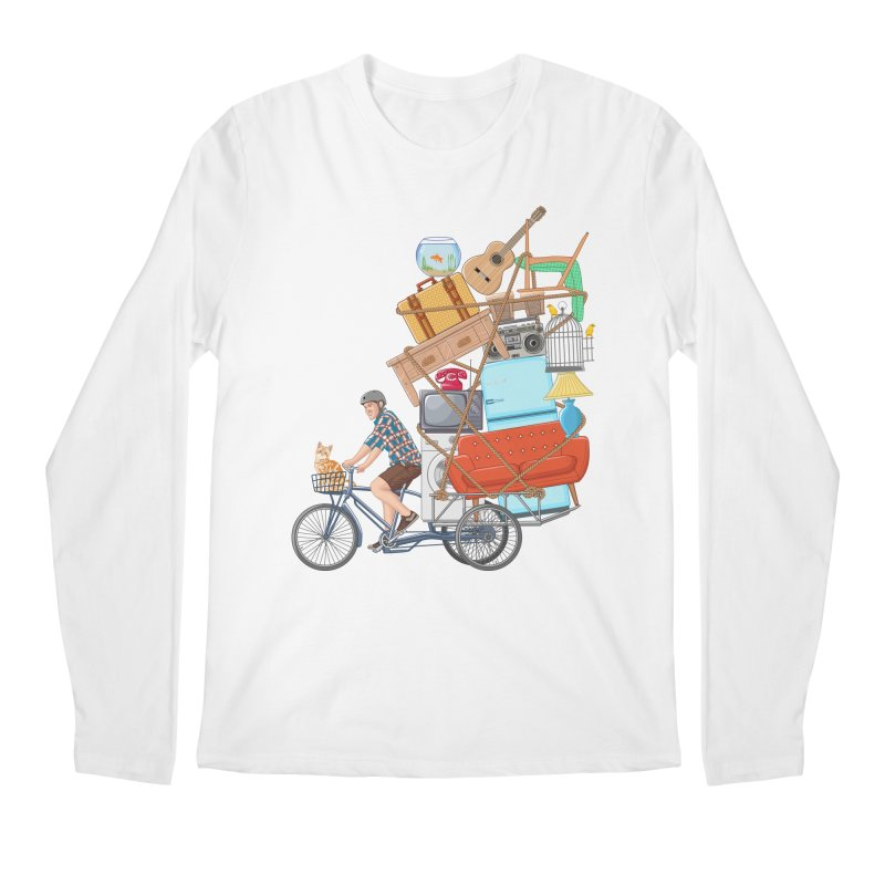 Life on the move Men's Longsleeve T-Shirt by zomboy's Artist Shop