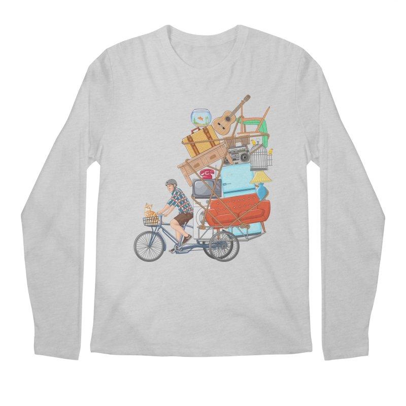 Life on the move Men's Regular Longsleeve T-Shirt by zomboy's Artist Shop