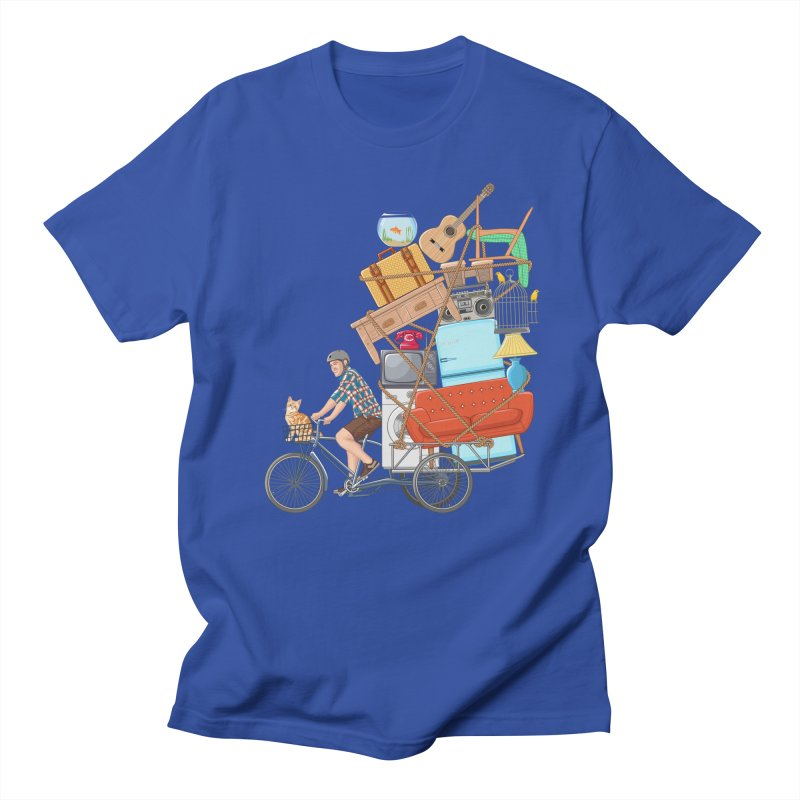 Life on the move Men's T-shirt by zomboy's Artist Shop