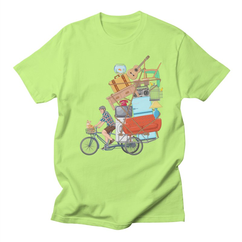 Life on the move Men's Regular T-Shirt by zomboy's Artist Shop