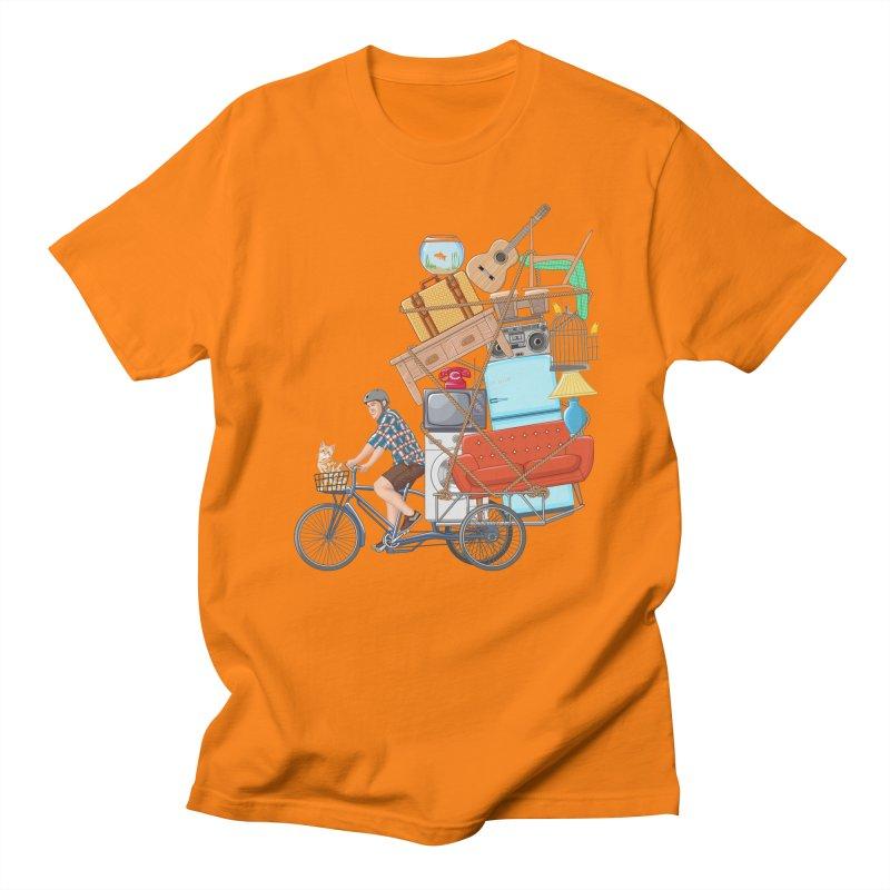 Life on the move Men's Regular T-Shirt by zomboy's Artist Shop
