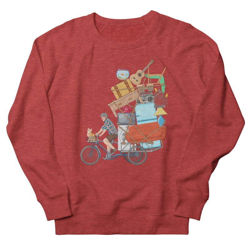 Life on the move Women's French Terry Sweatshirt by zomboy's Artist Shop