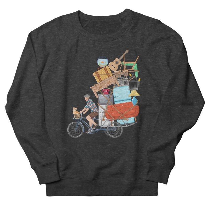 Life on the move Men's Sweatshirt by zomboy's Artist Shop