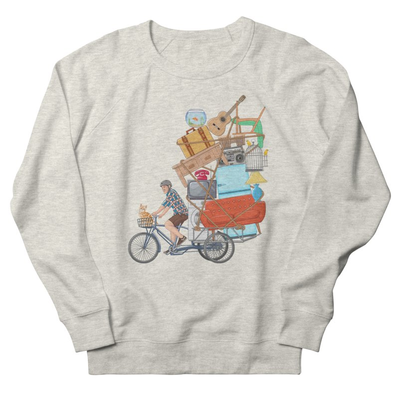 Life on the move Men's Sweatshirt by zomboy's Artist Shop