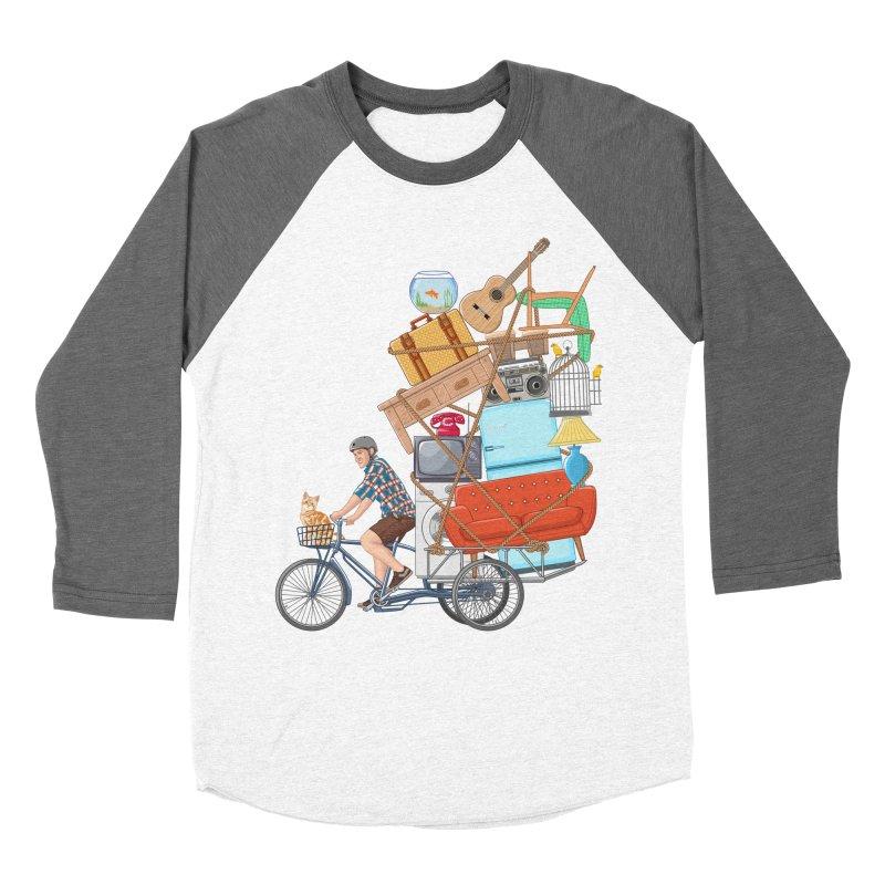 Life on the move Women's Baseball Triblend Longsleeve T-Shirt by zomboy's Artist Shop