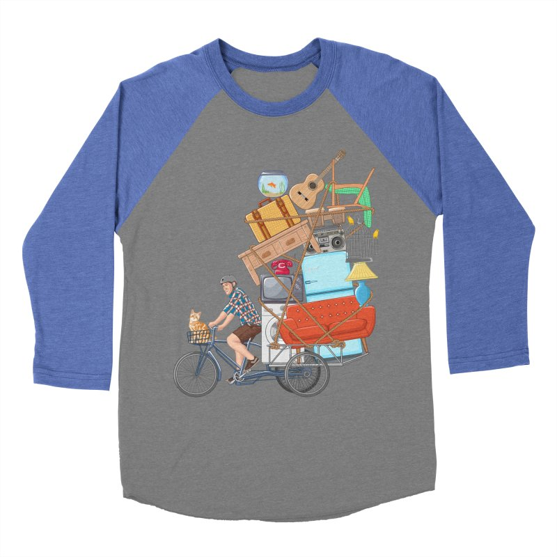Life on the move Women's Baseball Triblend T-Shirt by zomboy's Artist Shop