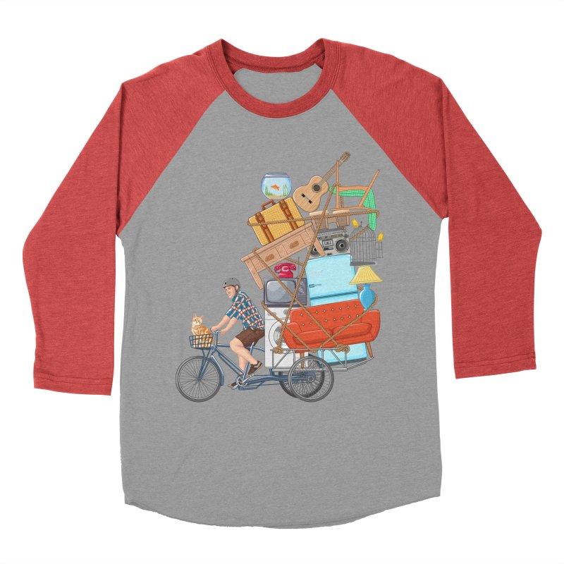 Life on the move Men's Baseball Triblend Longsleeve T-Shirt by zomboy's Artist Shop