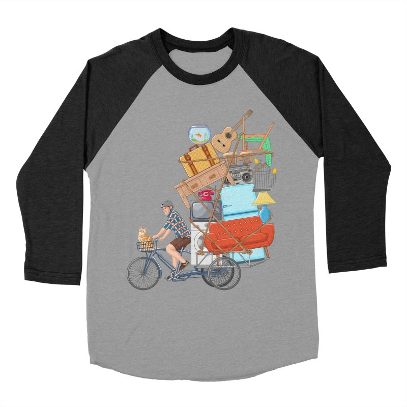Life on the move Men's Baseball Triblend T-Shirt by zomboy's Artist Shop