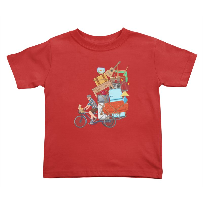 Life on the move Kids Toddler T-Shirt by zomboy's Artist Shop