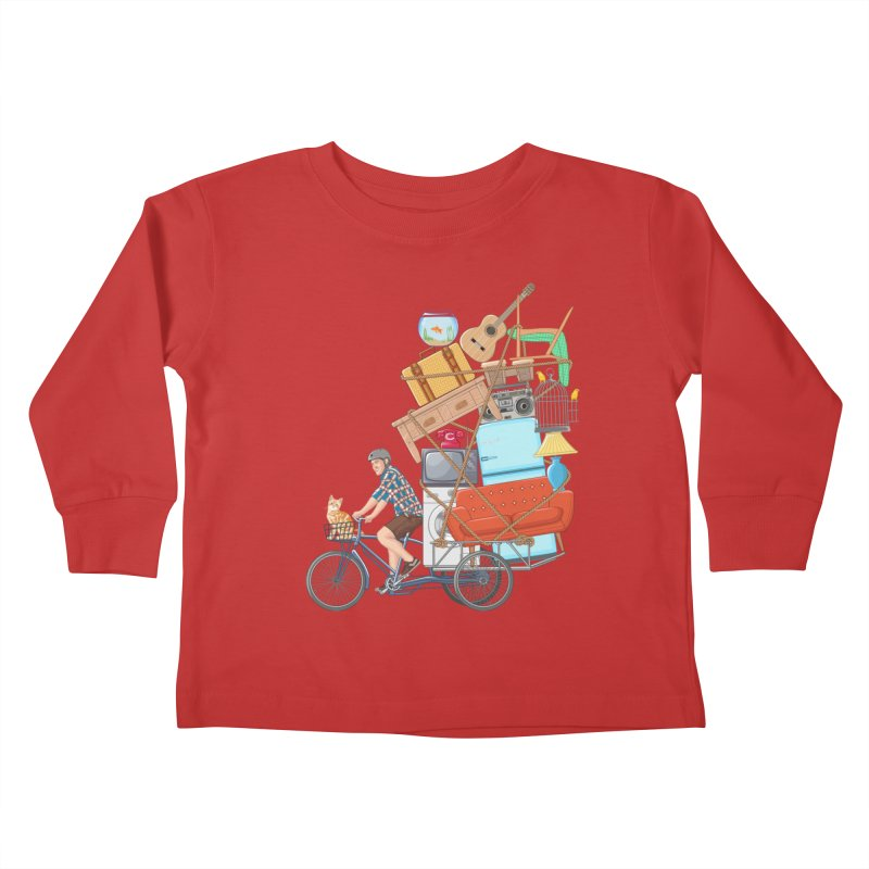Life on the move Kids Toddler Longsleeve T-Shirt by zomboy's Artist Shop