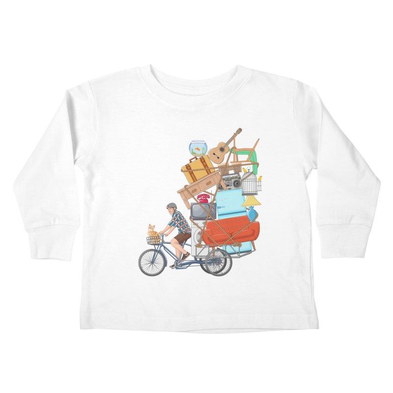 Life on the move Kids Toddler Longsleeve T-Shirt by zomboy's Artist Shop