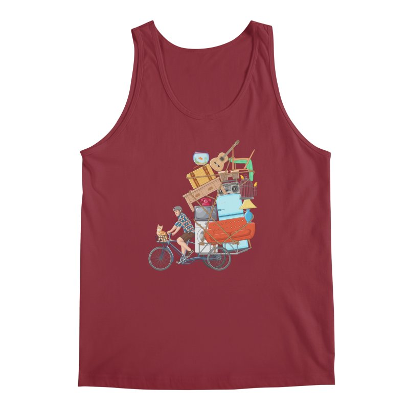 Life on the move Men's Tank by zomboy's Artist Shop