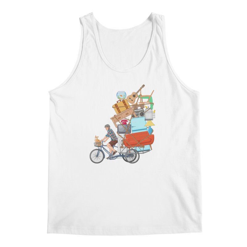 Life on the move Men's Regular Tank by zomboy's Artist Shop