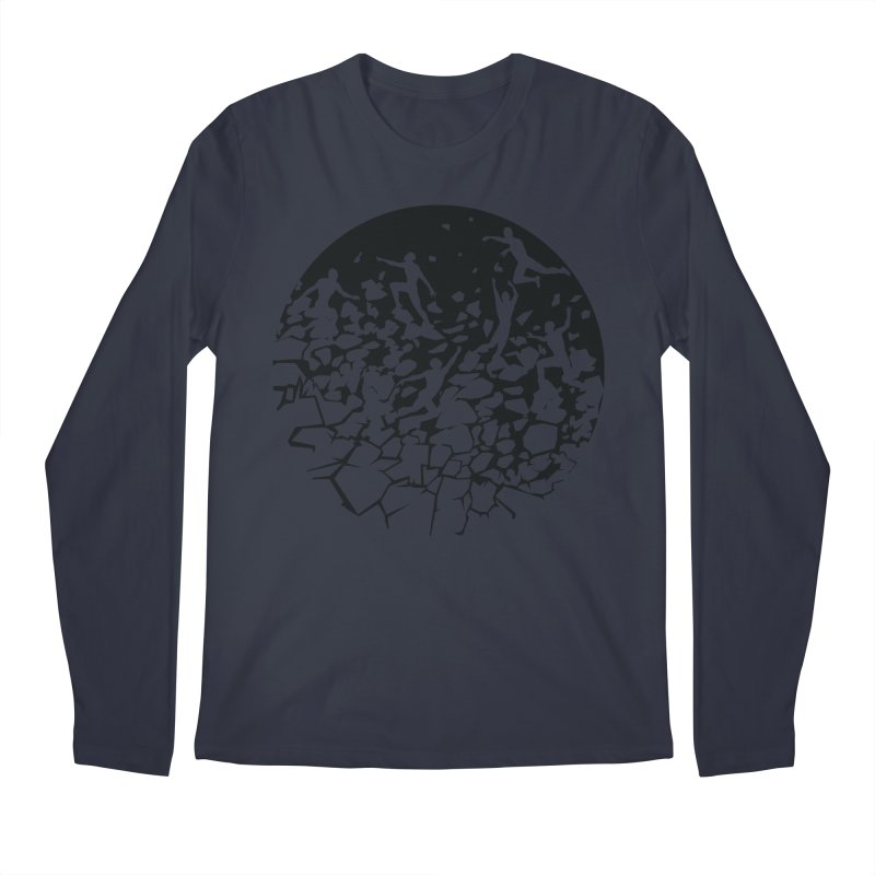 Break Free Men's Regular Longsleeve T-Shirt by zomboy's Artist Shop
