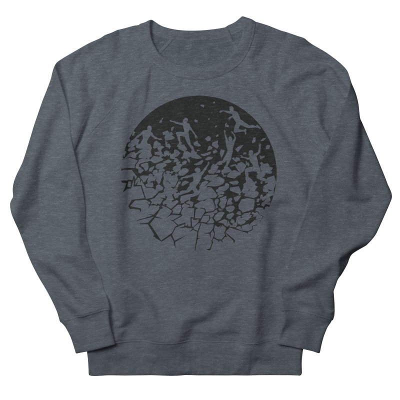 Break Free Men's French Terry Sweatshirt by zomboy's Artist Shop