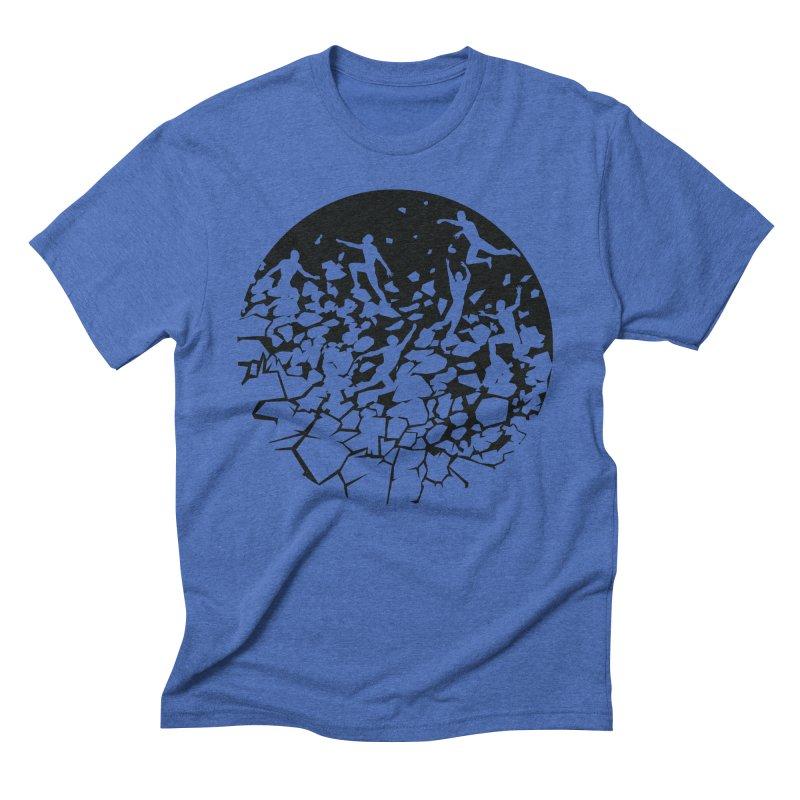 Break Free Men's Triblend T-Shirt by zomboy's Artist Shop