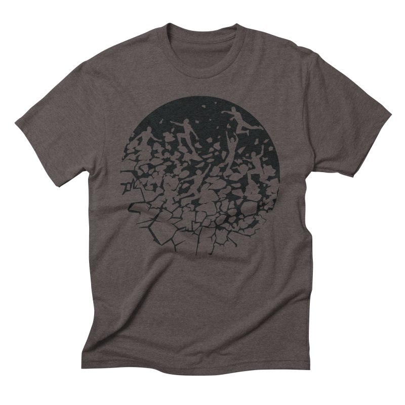 Break Free Men's Triblend T-shirt by zomboy's Artist Shop