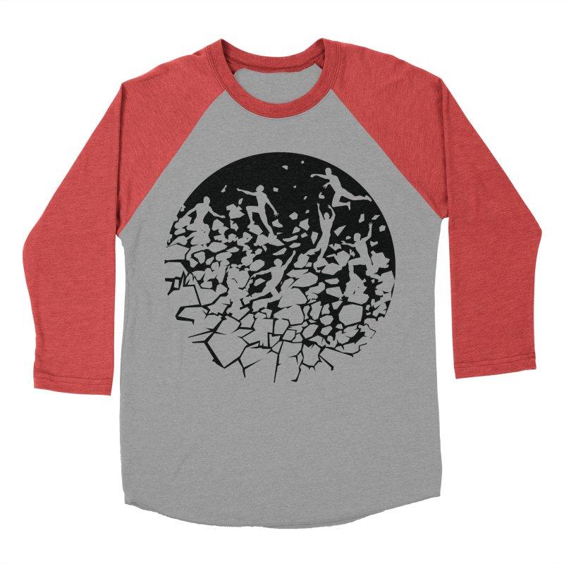 Break Free Women's Baseball Triblend Longsleeve T-Shirt by zomboy's Artist Shop