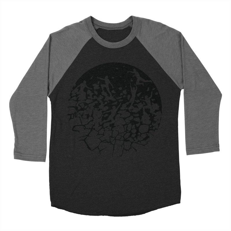 Break Free Women's Baseball Triblend T-Shirt by zomboy's Artist Shop