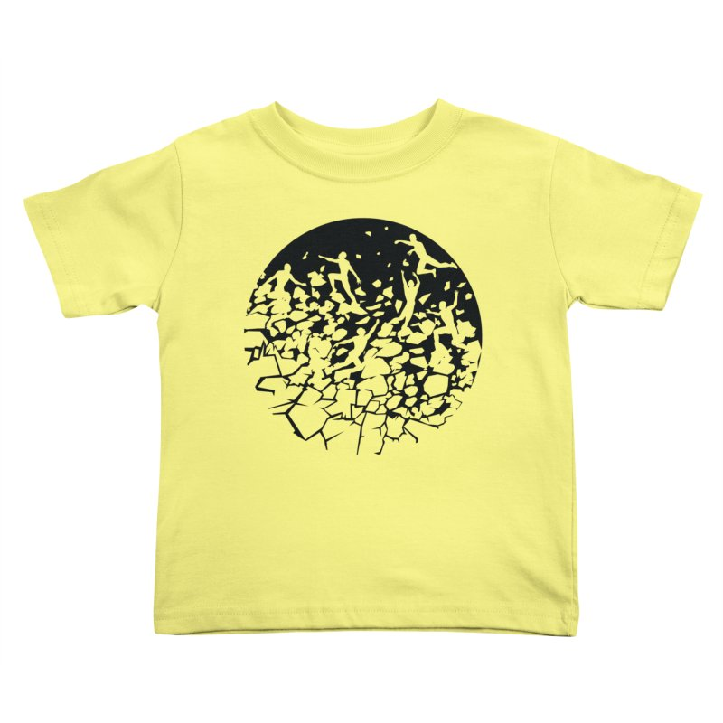 Break Free Kids Toddler T-Shirt by zomboy's Artist Shop