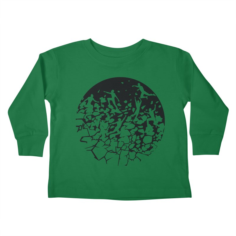 Break Free Kids Toddler Longsleeve T-Shirt by zomboy's Artist Shop