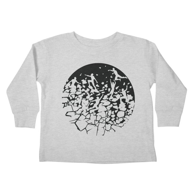 Break Free Kids Toddler Longsleeve T-Shirt by zomboy's Artist Shop