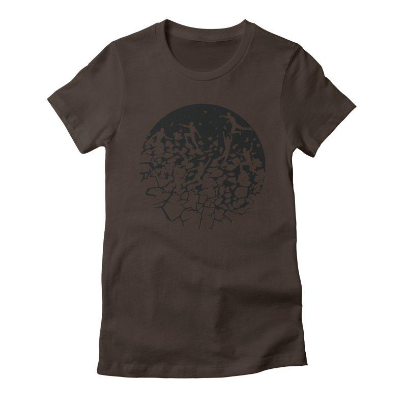Break Free Women's Fitted T-Shirt by zomboy's Artist Shop