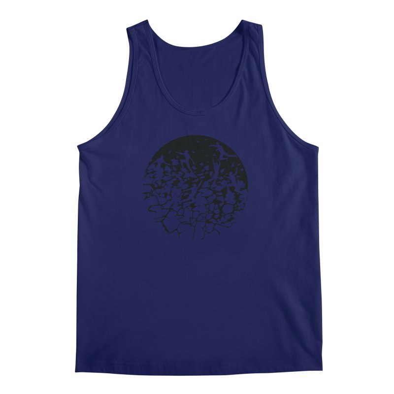 Break Free Men's Regular Tank by zomboy's Artist Shop