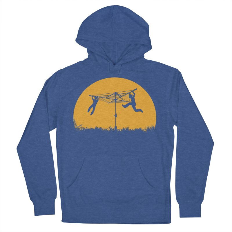 Merry Go Sunset Men's French Terry Pullover Hoody by zomboy's Artist Shop