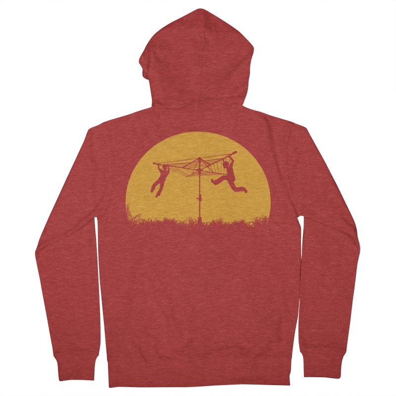Merry Go Sunset Men's Zip-Up Hoody by zomboy's Artist Shop