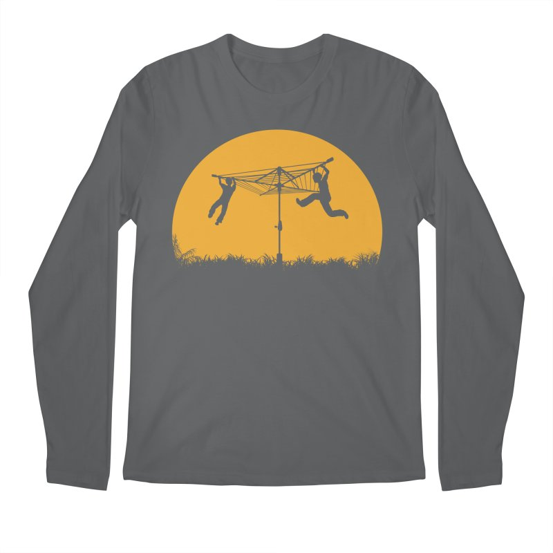 Merry Go Sunset Men's Regular Longsleeve T-Shirt by zomboy's Artist Shop