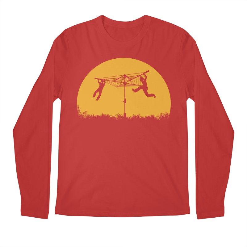 Merry Go Sunset Men's Longsleeve T-Shirt by zomboy's Artist Shop
